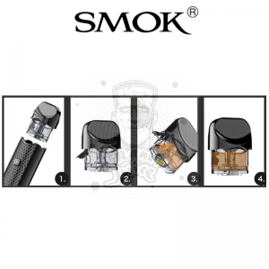 SMOK Nord  3ml Replacement Pod Kartridż, zestaw