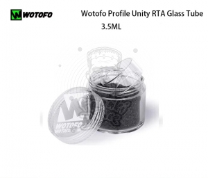 PYREX/SZKIEŁKO Wotofo - Profile Unity RTA Glass Tube 3,5ml
