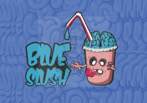 BLUE SLUSH PREMIX 50/60ml