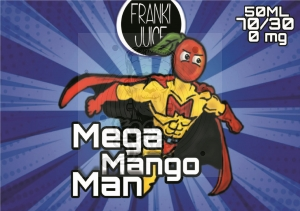 Mega Mango Man PREMIX 50/60ml