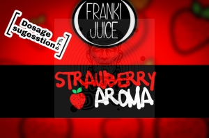 Truskawka (Strawberry) AROMAT FrankiJuice 10ml  (1)