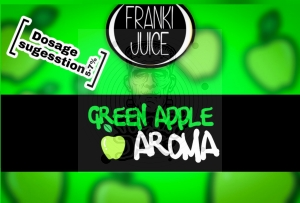 Zielone Jabłko (Green Apple) AROMAT FrankiJuice 10ml