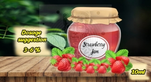 Strawberry Jam AROMAT Premium FrankiJuice 10ml