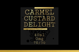 CARAMEL CUSTARD DELIGHT PREMIX FrankiJuice 40/60ml