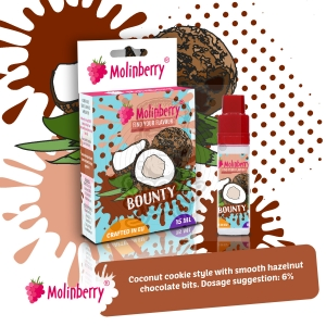 Bounty 15ml Molinberry Pack
