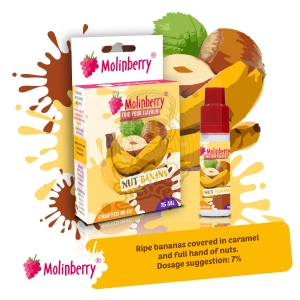 Nut Banana 15ml Molinberry Pack