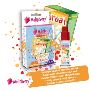 Crunchy Cereal 15ml Molinberry Pack