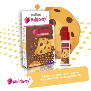 Cookie Bite 15ml Molinberry Pack