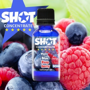 SHOT Concentrate Very Blue Raspberry 30ml