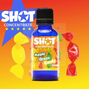 SHOT Concentrate Green Apple Candy 30ml