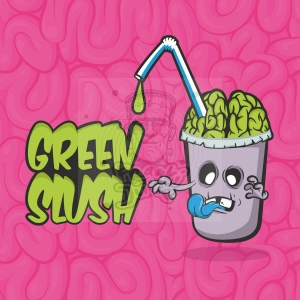 GREEN SLUSH PREMIX
