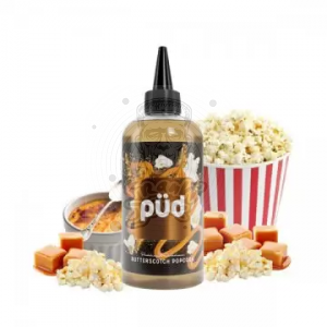 Püd by Joe's Juice  Butterscotch Popcorn PREMIX 200/240ml